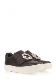 What For |  Slip-on sneakers Sarah | black  | Picture 3