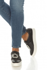 What For |  Slip-on sneakers Sarah | black  | Picture 2