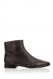 What For |  Leather ankle boots Alexiana | black  | Picture 1