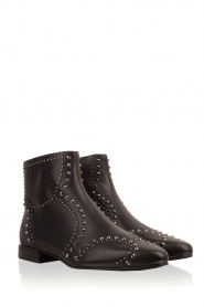 What For |  Leather ankle boots Alexiana | black  | Picture 4