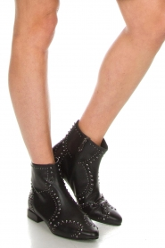 What For |  Leather ankle boots Alexiana | black  | Picture 3