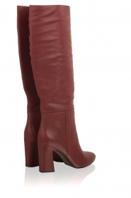 What For |  Leather boots Jess | red  | Picture 6
