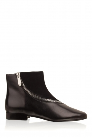 What For |  Leather ankle boots Jim | black   | Picture 1
