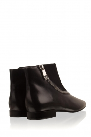 What For |  Leather ankle boots Jim | black   | Picture 4