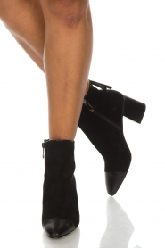 What For |  Leather ankle boots Eloise | black  | Picture 3