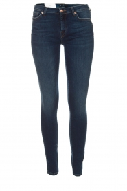 7 For All Mankind | Skinny jeans The Skinny met Swarovski | blue  | Afbeelding 1