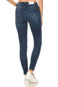 7 For All Mankind | Skinny jeans The Skinny met Swarovski | blue  | Afbeelding 5