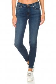7 For All Mankind | Skinny jeans The Skinny met Swarovski | blue  | Afbeelding 3