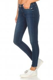 7 For All Mankind | Skinny jeans The Skinny met Swarovski | blue  | Afbeelding 4