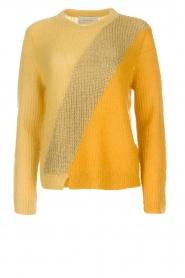 Munthe | Wollen trui Sylvia | geel  | Afbeelding 1