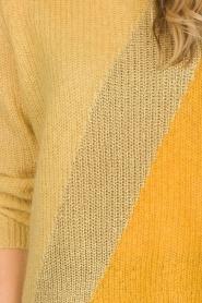 Munthe | Wollen trui Sylvia | geel  | Afbeelding 7