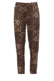 Munthe |  Pants Viool | animal print  | Picture 1