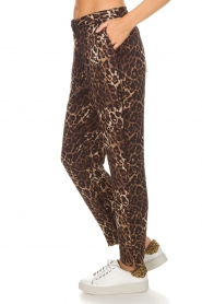 Munthe |  Pants Viool | animal print  | Picture 4