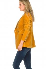 Hunkydory |  Velvet blazer Ivory | yellow  | Picture 5