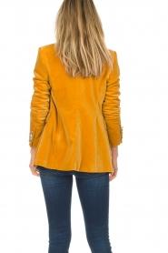 Hunkydory |  Velvet blazer Ivory | yellow  | Picture 6