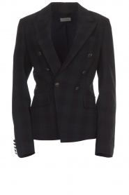 Hunkydory |  Checkered blazer Sil | blue   | Picture 1