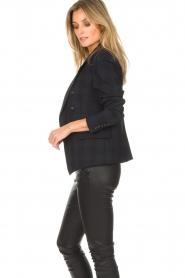 Hunkydory |  Checkered blazer Sil | blue   | Picture 5