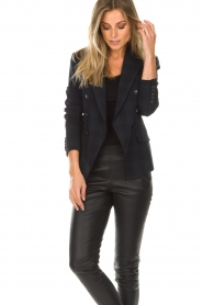 Hunkydory |  Checkered blazer Sil | blue   | Picture 2