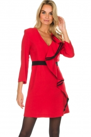 Atos Lombardini |  Dress Maribella | red  | Picture 2