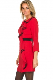 Atos Lombardini |  Dress Maribella | red  | Picture 6