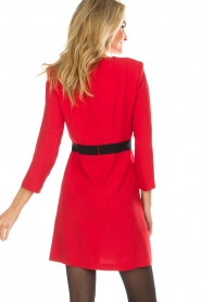 Atos Lombardini |  Dress Maribella | red  | Picture 7