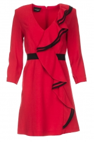 Atos Lombardini |  Dress Maribella | red  | Picture 1