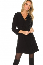 Atos Lombardini |  Dress Maribella | black  | Picture 4