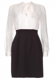 Atos Lombardini |  Dress Lorella | black & white  | Picture 1