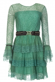 Atos Lombardini |  Lace dress Sonelle | green  | Picture 1