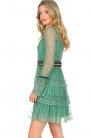 Atos Lombardini |  Lace dress Sonelle | green  | Picture 4