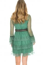 Atos Lombardini |  Lace dress Sonelle | green  | Picture 6