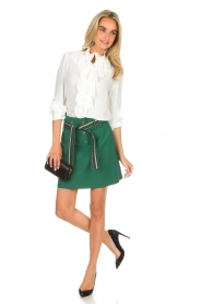 Atos Lombardini |  Skirt Milena | green  | Picture 3