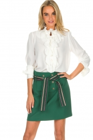 Atos Lombardini |  Skirt Milena | green  | Picture 2