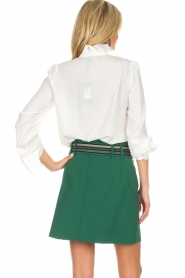 Atos Lombardini |  Skirt Milena | green  | Picture 5