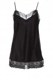 Atos Lombardini |  Silk top Mirella | black  | Picture 1