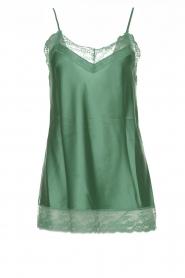 Atos Lombardini    Silk top Mirella   green    Picture 1
