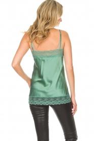 Atos Lombardini    Silk top Mirella   green    Picture 4