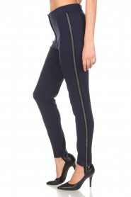Atos Lombardini |  Trousers Milena | blue  | Picture 4