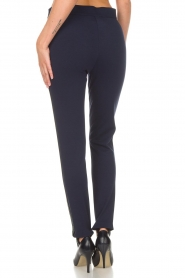 Atos Lombardini |  Trousers Milena | blue  | Picture 5