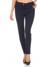 Atos Lombardini |  Trousers Milena | blue  | Picture 3