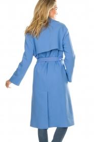Atos Lombardini |  Coat Arianna | blue  | Picture 5