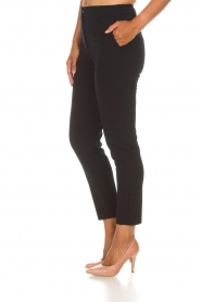 Atos Lombardini |  Trousers Alessandra | black  | Picture 4