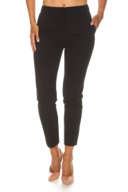 Atos Lombardini |  Trousers Alessandra | black  | Picture 3