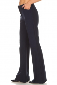 Atos Lombardini |  Flared trousers Notte | blue  | Picture 4