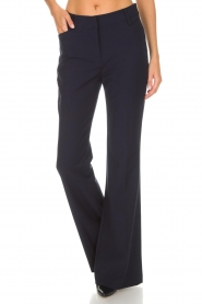 Atos Lombardini |  Flared trousers Notte | blue  | Picture 3