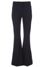 Atos Lombardini |  Flared trousers Notte | blue  | Picture 1