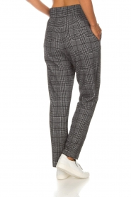 Atos Lombardini |  Checkered trousers Sevilla | grey  | Picture 5