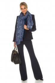 Atos Lombardini | Klassieke blazer Matilda | blauw  | Afbeelding 6