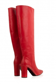 Atos Lombardini |  Leather boots Carli | red  | Picture 5
