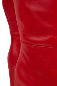 Atos Lombardini |  Leather boots Carli | red  | Picture 7